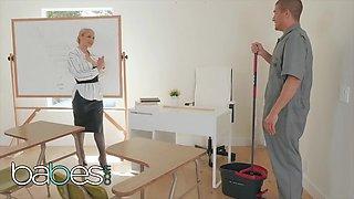 Sarah Vandella And Xander Corvus - Slutty Milf Teacher Doms Janitor