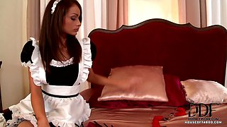 Mistress Disciplines Her Maid