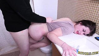 Mixed wrestling female domination Punish my 19 year-old culo