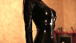 my latex girl
