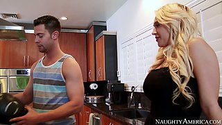 kagney linn karter johnny castle in dirty wives club
