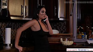 halloween tits and treats with karlee grey - naughty america