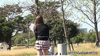 Kei Mizushima in Nasty Kei Mizushima gives a hot blowjob at the toilet - AvidolZ