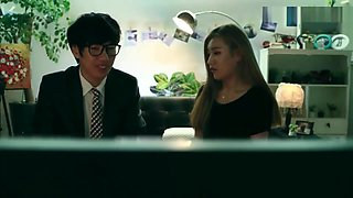 korean softcore collection newly wed learning sex from porn videos