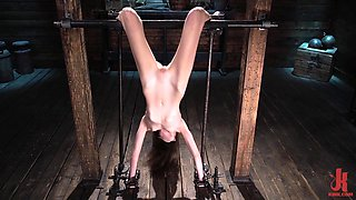 Incredible Sex Movie Hogtied Try To Watch For Full Version With Brooke Johnson