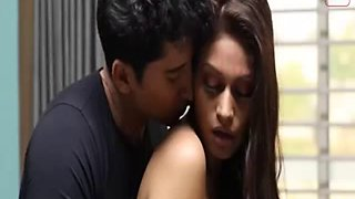 Super sexy look desi girl romance and sex with lover