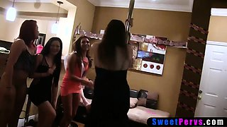 Slutty bride fucked at bachelorette party by a stranger