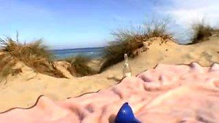Kleine Strandschlampen