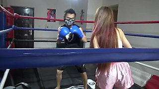 Chinese Brutal Mixed Boxing Ryona