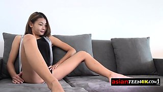 Petite Asian beauty is getting fucked