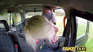 Fake Taxi Blonde babe horny tourist fucked in car