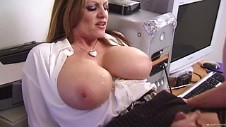 Kelly Madison is a nasty office worker craving to be fucked well