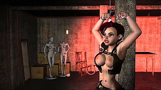 Bdsm Womb Raider Needful Things - Amazing 3D hentai adult