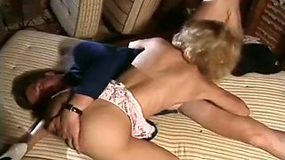 Blond Cute Whore Having Clit Rubbed