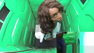 Black teen Daya gloryhole