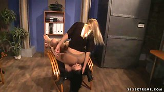 Executive dominatrix Nikky Thorne has a new slave