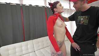 Another skinny teen allows Bryan to explore her innermost depths