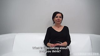 Drahomira Is A Slutty, Czech Brunette Who Likes To Fuck Men For Money, Once In A While