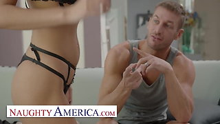 Naughty America - Gianna Dior gets worked OUT and stretched