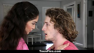 TeenPies - Surprise Creampie For Desperate Teen