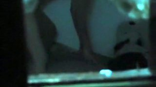 Voyeur neighbour tapes the asian girl fucking her bf in her bedroom