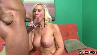 50 plus milfs carrie romano (carrie&#39s birthday present big black cock)