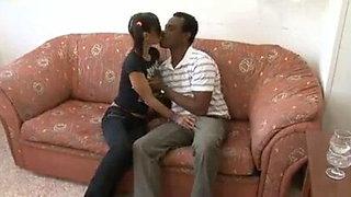 Her first black daddy