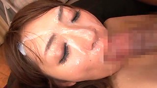 Saki Kouzai amazing Asian babe in hot group action