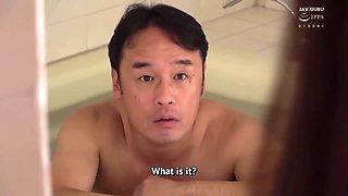 Eng Sub Hbad-450 Intimate Sex With My Stepdaughter In The Bathroom - Kosaka Sari And Sari Kosaka