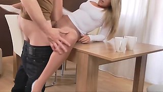 German sweet girl pantyhose sex