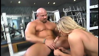 Blonde FBB Milf Clit pumped and Fucked