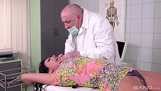 Anissa Kate - Fucked By A Kinky Old Doctor