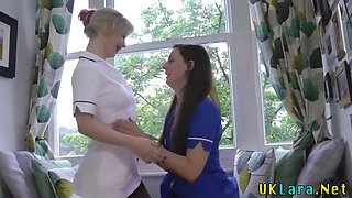 british nurse sucks dick