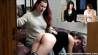 Phone spanking 1