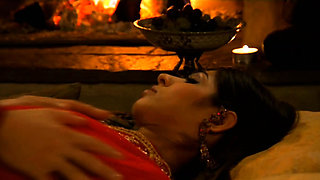 Exotic Lovers In The Indian Sauna
