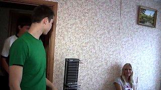 18 Videoz - Hailey - Swallowing cum for money