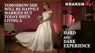 Chubby bride loves spank in an homemade scene