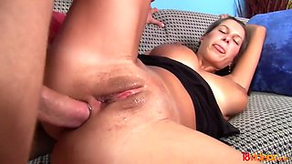 18 videoz - first anal leads to a great orgasm