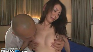 Japanese assistant has to make her boss happy