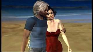 older mother with a student