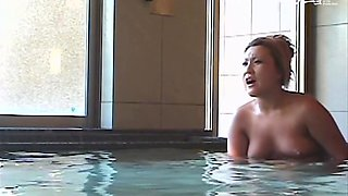 Japanese hairy pussies are exposed on the shower voyeur cam dvd 03057