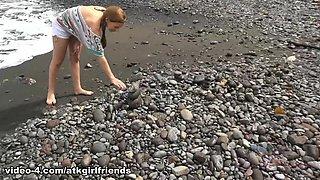 Amazing pornstar Jean Taylor in Best Fingering, Beach xxx movie