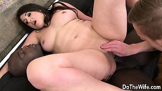 Housewife interracial anal experience