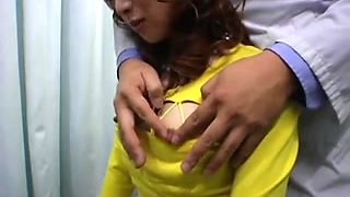 Japanese breast massage room hidden webcam