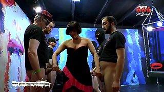Horny pornstar in Best MILF, Bukkake xxx movie