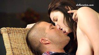Russian angel marina visconti loses her virginity on camera