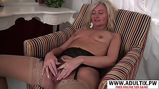 Perfect step mommy ellen b ride cock hot young dad&#39s friend