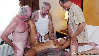 Teen old first time Staycation with a Latin Hottie
