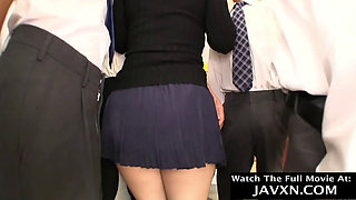 Big Ass Japanese Slut On The Bus