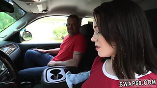 Russian teen anal orgy and sweaty Driving Lessons
